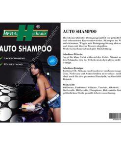 hera chemie auto shampoo
