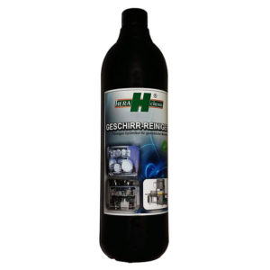 hera chemie geschirreiniger flasche