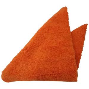 Hera Chemie Fines Microfaser Softpolish Orange Tuch